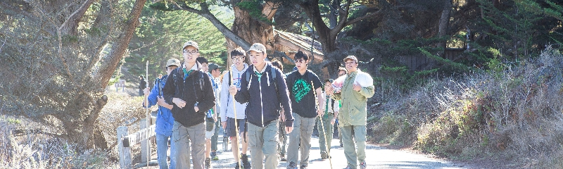Boyscout Hiking