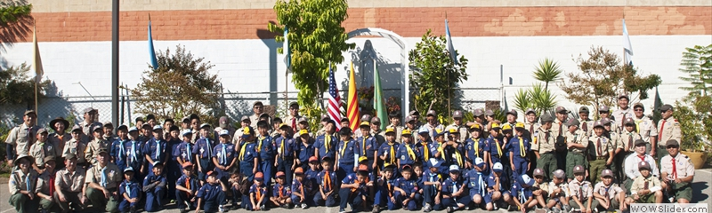 Cub Scout Group 2012